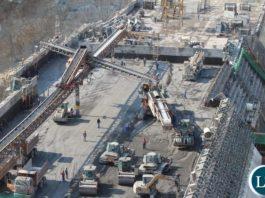 Kafue Lower Gorge Construction Site