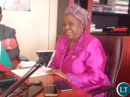 National guidance and religious affairs Minister Reverand Godfridah Sumaili