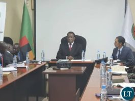 ECZ Chairperson Hon. Justice Esau E. Chulu