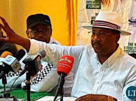 Patriotic Front National Mobilization Deputy Chairperson Geoffrey Bwalya Mwamba