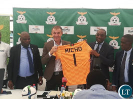 Micho unveiled as Chipolopolo Coach