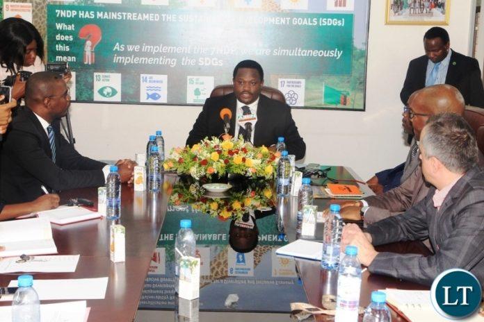 Minister Alexander Chiteme