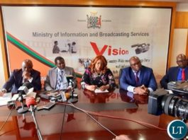 The Joint media briefing Minister of Home Affairs, Ministers of information and General Education