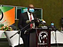 Finance Minister Dr Bwalya Ng'andu