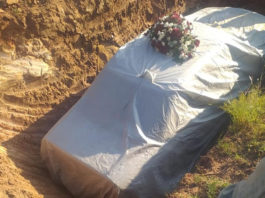 SOuth African Politician Tshekede Buffon Pitso's resting place