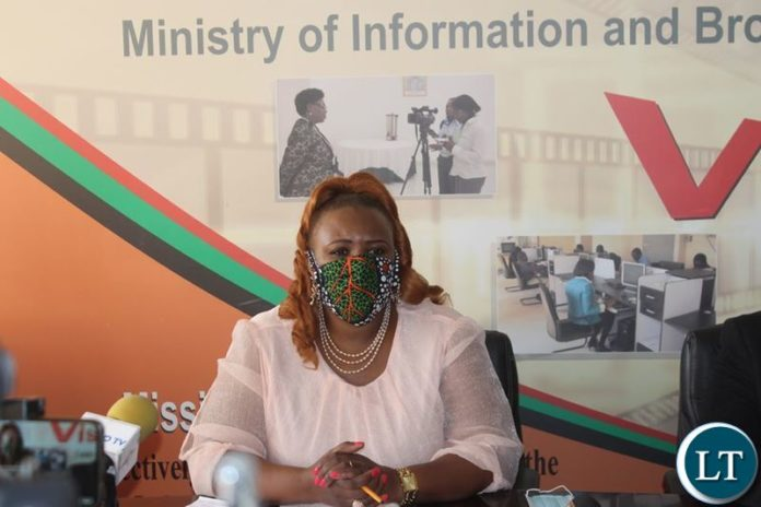 Minister Of Information And Broadcasting Services And Chief Government Spokesperson Dora Siliya