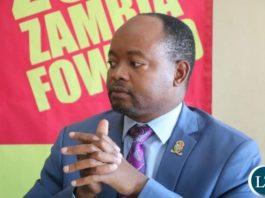 UPND Deputy Spokesperson Cornelius Mweetwa