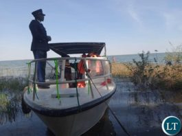 The Commissioned 16 sitter boat worth K1.2 Million by Chilubi Town Council