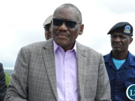 Local Government Minister Dr Charles Banda
