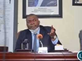 Lusaka Province Minister Bowman Lusambo