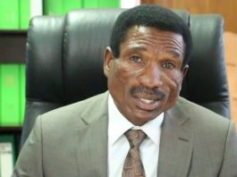 Agriculture Minister Michael Katambo