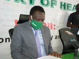 Ministry of Health Spokesperson Dr. Abel Kabalo
