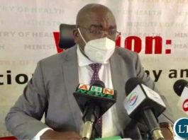 Minister of Health Dr. Chitalu Chilufya