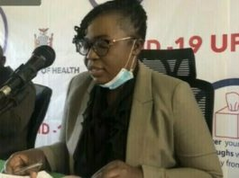 Ministry of health Permanent Secretary in Charge of Administration Kakulubelwa Mulalelo