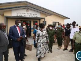 Vice President Inonge Wina officially commissionined the Lealui Mini hospital in Lealui western province