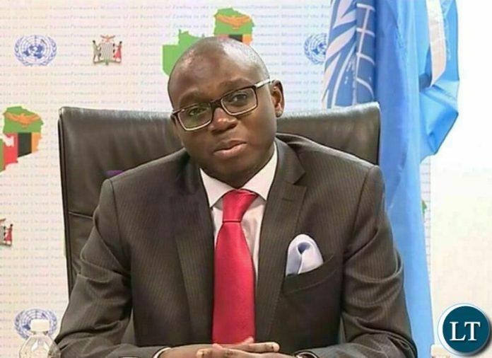 Foreign Affairs Permanent Secretary Ambassador Chalwe Lombe