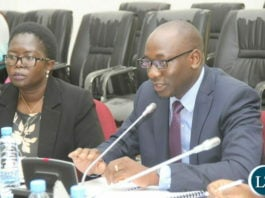 Ministry of Finance Permanent Secretary, Mr. Mukuli Chikuba