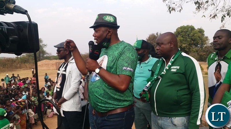 Bowman Lusambo drumming up support for Ward Councilors