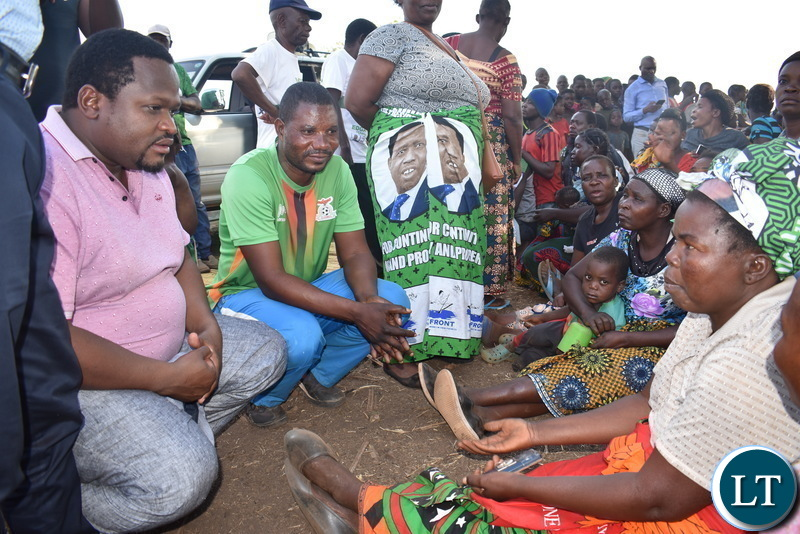 Chiteme talks to Nyimba women