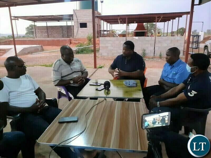 Ministers Alexander Chiteme and Michael Katambo and MPs Moses Mawere (Chipata) and Masauso Tembo (Sinda)