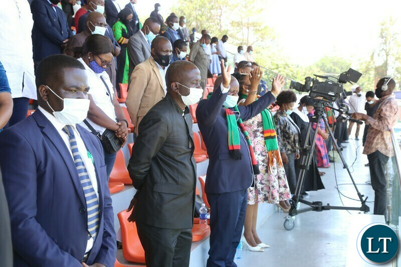 ,Leaders of the Opposition Political Parties joins in Prayers during the Commemoration of the National Day of Prayer,Fasting and reconciliation in the Show Grounds yesterday