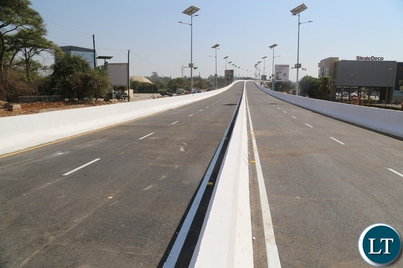 The   fly-over Bridge that has been constructed by AFCON constructing firm