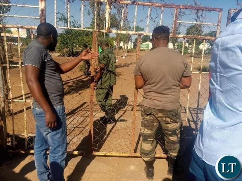 UPND Leader Hakainde Hichilema and his team blocked from visiting NDC leader Dr Chishimba Kambwili at Kamwala remand prison on the Day of National Prayers