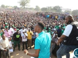 PF Copperbelt Provincial Mobilisation Coordinator Bowman Lusambo's Mass Rally in Chingola