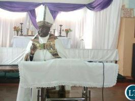 Anglican diocese of Luapula Bishop ROBERT MUMBI