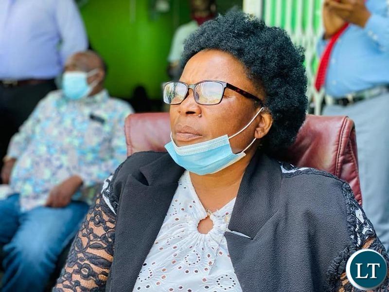 Lusaka Provincial Chairlady Margie Mumba