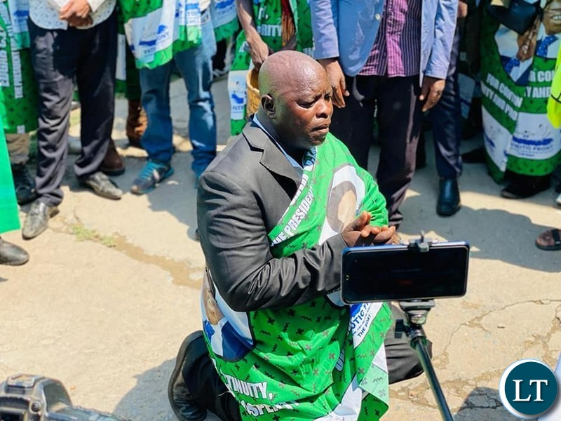 Speaking through Village Headman Nsingo, the traditional leaders expressed gratitude to the PF government for the ongoing developmental projects in their district