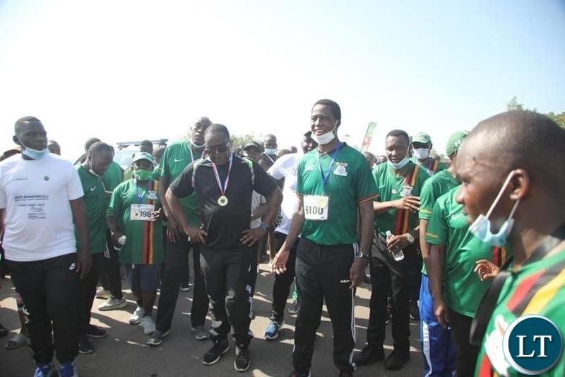 President Lungu are Samfya Summerfest Event