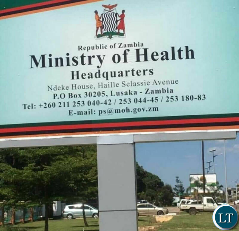 Ministry of Health Headquarters in Lusaka